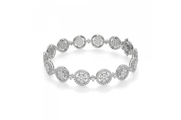 bracciale Tiziana in oro bianco e diamanti
