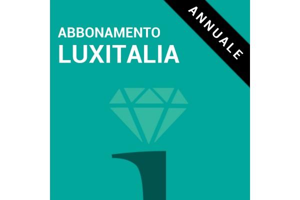 Abbonamento Luxitalia - ANNUALE
