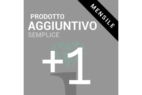 Prodotto aggiuntivo Semplice (Add-on abbonamento mensile)